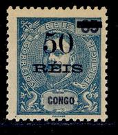 ! ! Congo - 1905 King Carlos OVP 50 R - Af. 54 - MH - Congo Portugais