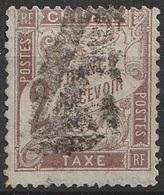 France 1884 Taxe N° 26  2 Francs Marron  (F24) - Taxes