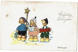 Gelukkige Nieuwjaar   H Scheggiz - Nouvel An