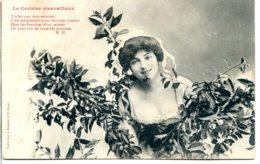 Bergeret - Jeune Femme - Le Cerisier Merveilleux - Bergeret