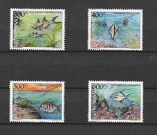 Guinea-Bissau 1991 MiNr. 1139 - 1142  Fishes Marine Life 1bl MNH** 6,00 € - Guinée-Bissau