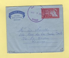 Bahamas - Nassau - 1965 - Entier Postal - Aerogramme - Paquebot - Postwaardestukken