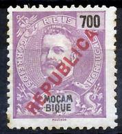 """!■■■■■ds■■ Mozambique 1917 AF#200* Local """"republica"""" 700 Réis (x4516) - Mozambique"""
