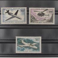 FRANCE Poste Aérienne, N°35-37 N** Cote 110€ - Poste Aérienne