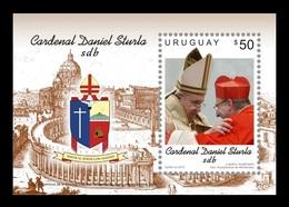 Uruguay 2015 Mih. 3411 (Bl.123) Cardinal Daniel Sturla MNH ** - Uruguay