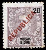 """!■■■■■ds■■ Mozambique 1917 AF#191* Local """"REPUBLICA"""" 20 Réis (x1057) - Mozambique"""