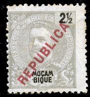 """!■■■■■ds■■ Mozambique 1917 AF#189* Local """"republica"""" 2,5 Réis (x6878) - Mozambique"""