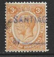 British Honduras Scott # 95 Used King George V, 1933 - Honduras Britannique (...-1970)