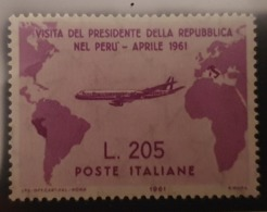 1961 Gronchi Rosa ** Sassone 921 Gomma Integra - 1961-70: Mint/hinged