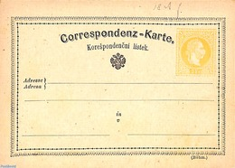 Austria 1872 Postcard 2Kr, (text 57mm), (Unused Postal Stationary), Stamps - 1850-1918 Empire