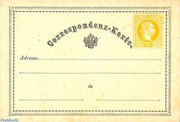Austria 1871 Postcard 2kr (German), (Unused Postal Stationary), Stamps - 1850-1918 Empire