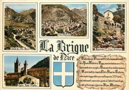 """/ CPSM FRANCE 06 """"La Brigue De Nice """" - Frankreich"""