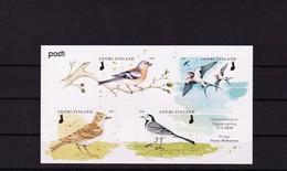 2020 Finland Birds Mini Sheet Of 4 Stamps MNH - Finlandia