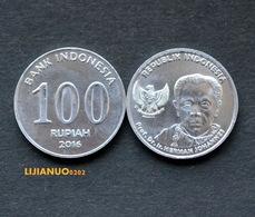 Indonesien Münzen Indonesia 100 Rupiah  2016 UNC COIN - Indonesien