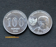 Indonesien Münzen Indonesia 100 Rupiah  2016 UNC COIN - Indonesia