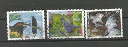1004/1006  Oiseaux Endémiques   (clasyveroug21) - Oblitérés