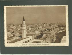 Tripoli Panorama E Moschea Di Caramenli édit. Sabbatini N° 86360 6041 - Libye