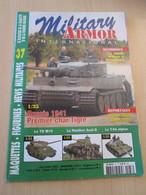 AVICOV Revue De Maquettisme Plastique MAQUETTES MILITAIRES N°37 De 2005 , Valait 5.95 €; Sommaire En Photo 3 ; TB état - Revues