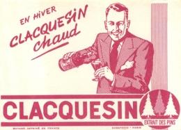 BUVARD VIN CLACQUESIN EXTRAIT DE PINS - Papel Secante