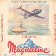 BUVARD BISCOTTES MAGDELEINE  GRANVILLE - Biscottes