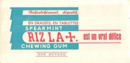BUVARD CHEWING GUM RIZLA+ - Cake & Candy