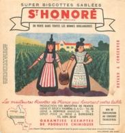 BUVARD BISCOTTES SAINT HONORE - Biscottes