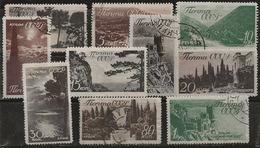 Russie 1938 N° Y&T : 658 à 665,668 Et 669 Obl. - 1923-1991 URSS