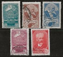 Russie 1940 N° Y&T : 768 à 772 Obl. - 1923-1991 URSS