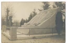 CARTE PHOTO 03 Villeneuve Sur Allier Monument Du Dirigeable Republique - Sonstige Gemeinden