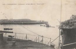 "CHERBOURG  Le Sous-marin "" Emeraude "" - Sous-marins"