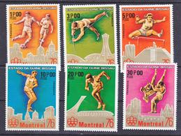 Guinée Bissau Timbre Et BF Série Montreal 1976 Neuf **TB  Mnh - Guinée-Bissau