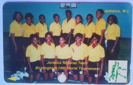 73JAMA National Volleyball Team J$100 No Slash C/n - Jamaica