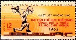 Viêt Nam Du Nord 1962 Non Répertorié Y&T Sports Militaires / Haltérophilie - Vietnam