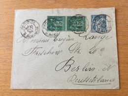 K9 France Entier Postal Stationery Ganzsache YT 90-E5 De Paris Pour Berlin - Entiers Postaux