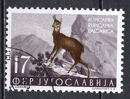 Yougoslavie - Jugoslawien - Yugoslavia 1954 Y&T N°647 - Michel N°742 (o) - 17d Chamois - Gebraucht