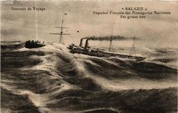CPA AK Paquebot Salazie, SHIPS (762687) - Steamers