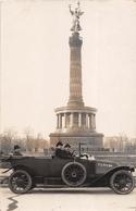 ¤¤  -   ALLEMAGNE   -   BERLIN  -  Carte-Photo De La Colonne De La Victoire  -  Voiture , Tacot      -  ¤¤ - Allemagne