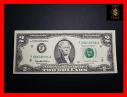 """U.S.A. 2 $ 1995  P. 497  """"F""""   UNC - Billetes De La Reserva Federal (1928-...)"""