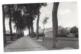 80 WOIGNARUE - HAUTEBUT   ( Somme )     Route Nationale  Par Saint Valéry Sur Somme , - France