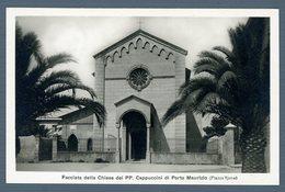 °°° Cartolina - Facciata Della Chiesa Dei Pp. Cappuccini Di Porto Maurizio Nuova °°° - Imperia