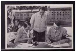 """DT- Reich (008684) Propaganda Sammelbild Adolf Hitler"""""""" Bild 59, In Den Sommerferien Auf Dem Obersalzberg - Germany"""