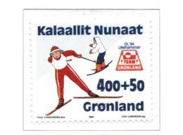 Greenland 1994 Olympic Games Lillehammer  MNH/** (H30) - Winter 1994: Lillehammer