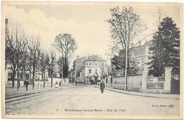 FONTENAY SOUS BOIS : RUE DU PARC - Fontenay Sous Bois