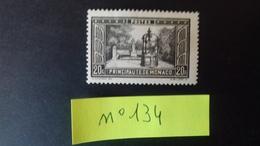 MONACO N°134* - Unused Stamps