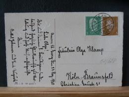 51/628  CP ALLEMAGNE 1930  OBL. AMERN/ST. GEORGE - Brieven En Documenten