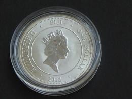 Magnifique 1 One Dollar Fiji Taku  Elizabeth II 2012 - EN ARGENT    **** EN ACHAT IMMEDIAT **** - Fidji