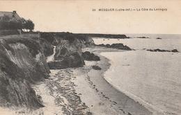 Rare Cpa Mesquer La Côte De Lennguy - Mesquer Quimiac