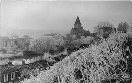 """¤¤  -  MAREUIL-sur-LAY   -  Carte-Photo   -  Vue Sur L'Eglise  -  Tampon à Sec Du Photographe """" Gaubard """"      -  ¤¤ - Mareuil Sur Lay Dissais"""