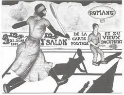 CPM/CPSM - 1er Salon De La Carte Postale Organisé Par L'O.M.S. - ROMANS - Romans Sur Isere