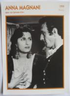Anna MAGNANI (1952)    Portrait Star Cinéma . Photo-Fiche Filmographie . Collection Edito Service - Foto